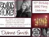 40th Birthday Invite Wording for Her 40th Birthday Invitations Printable Free Invitations Ideas