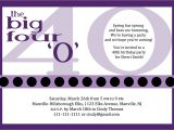 40th Birthday Invite Wording for Her Funny 40th Birthday Quotes for Women Quotesgram
