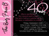 40th Birthday Party Invitations Online Create Surprise 40th Birthday Invitation Wording Samples