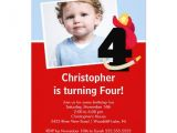 4th Birthday Party Invitations Boy Photo Little Firefighter Boy Fourth Birthday Party Custom
