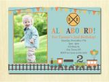 4th Birthday Party Invitations Boy Train Birthday Invitation Boys 1st 2nd 3rd 4th Birthday