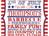 4th Of July Party Invite Ideas 6 Best Of 4th July Printable Invitations July