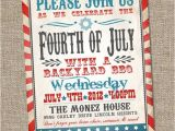 4th Of July Party Invite Ideas Fourth Of July Invitation Vintage Fourth Of July Invitation