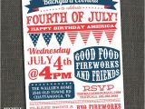 4th Of July Party Invite Ideas Items Similar to Fourth Of July Party Invitation Bbq