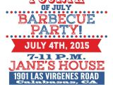 4th Of July Party Invite Printable 4th Of July Party Invitations Precise Bees