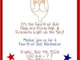 4th Of July Party Invite Wording 4th July Party Invitations