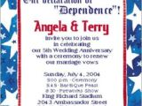 4th Of July Party Invite Wording Pin by Crystal Elko On Anniversary