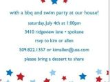 4th Of July Party Invite Wording Wording for 4th July Party Invitations July 4th