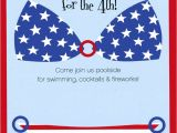 4th Of July Pool Party Invite Patriotic Pool Party July 4th Pool Party Ideas