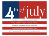 4th Of July Pool Party Invite Us Flag Fourth Of July Party Invitation