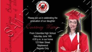 4×6 Graduation Invitations 4×6 Quot Photo Graduation Announcement Invitation