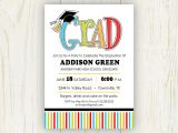 4×6 Graduation Invitations Graduation Party Invitation 5×7 or 4×6 Digital File