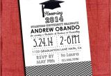 4×6 Graduation Invitations Graduation Party Invitation Chevron Style 4×6 or 5×7 You