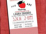 4×6 Graduation Invitations Teacher Graduation Party Invitation Chevron Style 4×6 or 5×7