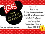 4×6 Party Invitation Templates Minnie Mouse Invitation Template 4×6 by Luckybean33 On Etsy