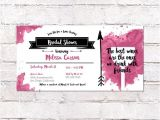 4×8 Wedding Invitations Wine Tasting Bridal Shower Invitation 4×8 Invite Custom