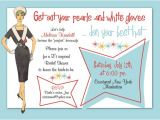 50 S Bridal Shower Invitations Bridal Wedding Shower 1950 Invites Retro 50 39 S 60 39 S