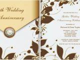 50 Wedding Anniversary Invitations Wording 50th Wedding Anniversary Party Invitation Ideas