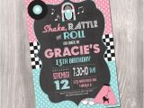 50s Party Invitations Free 50 39 S Birthday Invitation Fifties Birthday Invitation