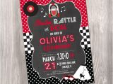 50s Party Invitations Free 50s Birthday Invitation Fifties Birthday Invitation Red
