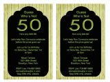 50th Birthday Invitation Ideas 50th Birthday Party Invitation Ideas