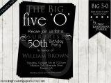 50th Birthday Invitation Ideas for Him 50th Birthday Invitations for Him – Gangcraft