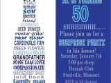 50th Birthday Invitation Ideas Funny Awesome Free Template Funny 50th Birthday Party Invitation