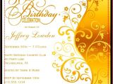 50th Birthday Invitation Sample 50th Birthday Invitation Templates A Birthday Cake