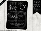 50th Birthday Party Invitation Samples 50th Birthday Party Invitations for Men Dolanpedia
