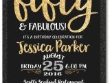 50th Birthday Party Invitations with Photo 50th Birthday Invitation orderecigsjuice Info