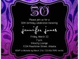 50th Birthday Party Invitations with Photo Brilliant Emblem 50th Birthday Party Invitations Paperstyle