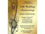 50th Wedding Invitations Designs 50th Anniversary Party Invitations Template Resume Builder