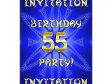 55th Birthday Party Invitations 55th Birthday Party Invitation Zazzle Ca