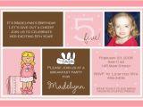 5th Birthday Invitation Wording 5th Birthday Invitation Wording Ideas Bagvania Free
