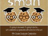 5th Grade Graduation Invitations 5th Grade Graduation Graduation End Of School Party Ideas