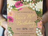 60th Birthday Brunch Invitations A Whimsical and Intimate Garden Brunch 70 Birthday