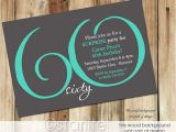 60th Birthday Party Invitation Templates Free Download 60th Birthday Invitation Card Template Free Download