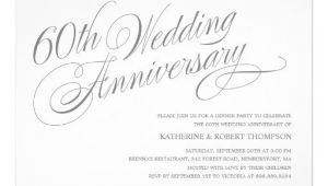 60th Wedding Anniversary Invitations Free Templates 60th Wedding Anniversary Invitation Templates