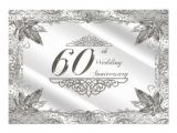 60th Wedding Anniversary Invitations Free Templates Personalized 60th Anniversary Invitations