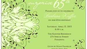 65th Birthday Invitation Verses andromeda Navy Surprise 65th Birthday Invitations Paperstyle
