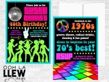 70 theme Party Invitation Wording 70s Birthday Invitations Best Party Ideas