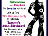 70s Party Invitations Templates 70s Disco Party Invitations Newhairstylesformen2014 Com