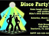 70s Party Invitations Templates Disco Invitation Personalized Party Invites