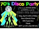 70s theme Party Invitations 70s theme Party Invitations A Birthday Cake