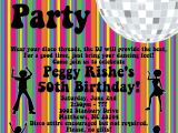 70s theme Party Invitations Disco Party Invitations 70 39 S Disco Dance Party