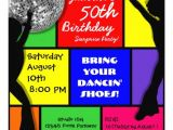 70s theme Party Invitations Personalized 70s Birthday Invitations