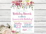 70th Birthday Brunch Invitations Birthday Brunch Any Age 40th 50th 60th 70th 80th Birthday