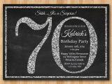 70th Birthday Invitation Wording 70th Birthday Party Invitations