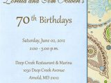 70th Birthday Invitation Wording Examples Create 70th Birthday Invitation Wording Ideas Ideas