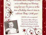 70th Birthday Party Invitations Wording Invitation Wording for 70th Birthday Surprise Party Best